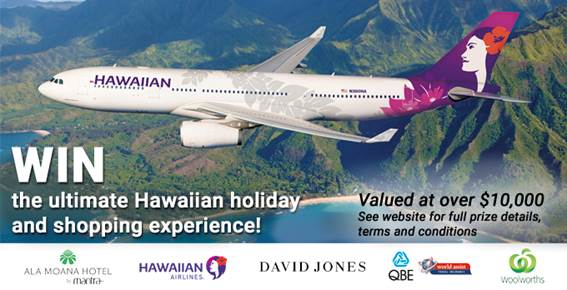 Hawaiian Holiday Flyer